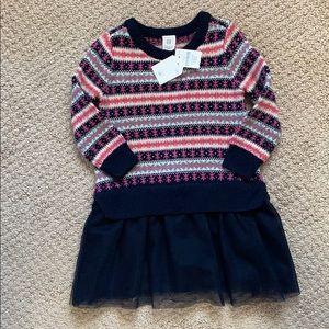 Brand NEW!!! Baby GAP sweater tutu dress